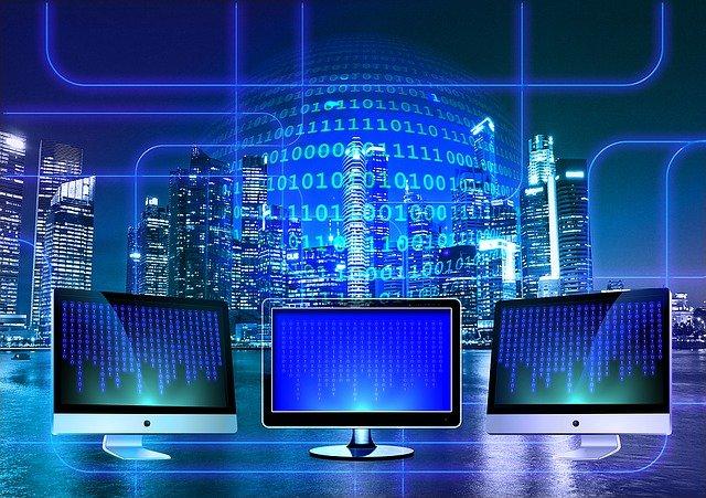 binární systém a monitory