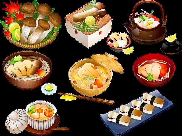 houbové pokrmy