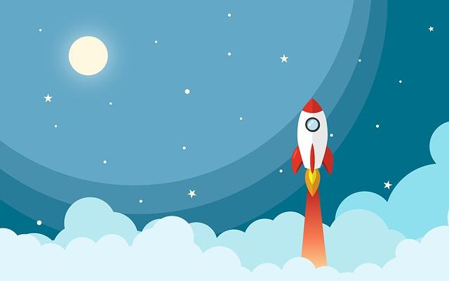 raketa ve vesmíru