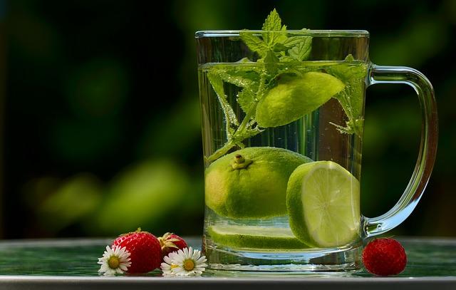 detoxikační pití