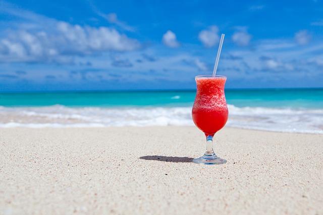 plážový drink